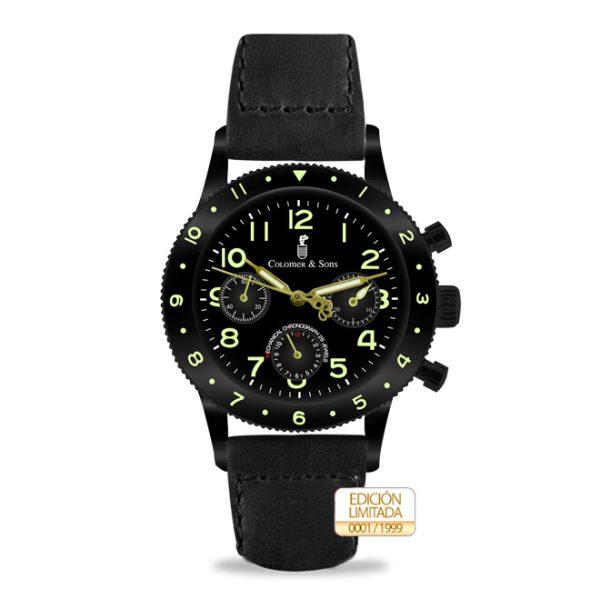Comprar reloj Vintage Pilot Black