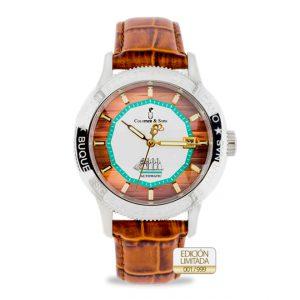 Reloj Juan Sebastián Elcano Silver