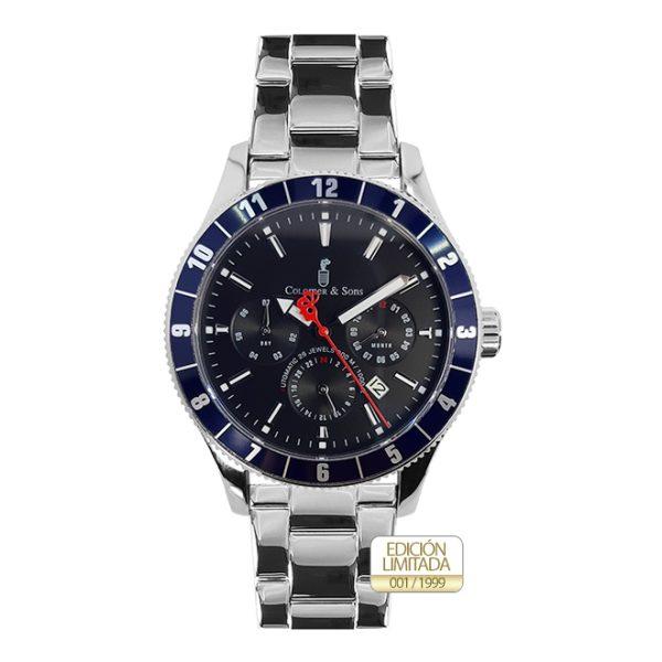 Reloj Ocean Multifunction Acero