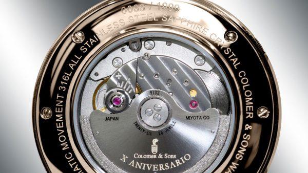 Reloj Fortunate Rose Gold Tapa trasera
